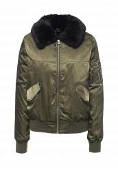 Купить Куртка утепленная Topshop хаки TO029EWPYR13