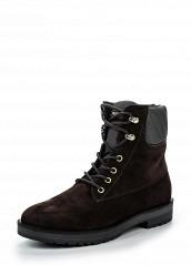 Купить Ботинки Tommy Hilfiger коричневый TO263AWKGQ10