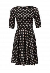 Купить Платье Tutto Bene черный TU009EWKQE54 Россия