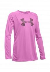 Купить Лонгслив спортивный UA Big Logo LS T Under Armour розовый UN001EGOJL23