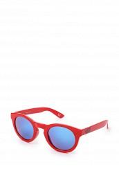 Купить Очки солнцезащитные Vans WM LOLLIGAGGER SUNGL Tomato красный VA984DWRCQ23 Китай