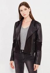 Купить Куртка кожаная Vila черный VI004EWUPU91 Индия