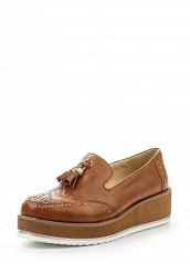 Купить Лоферы Wellspring коричневый WE012AWSAB44 Китай