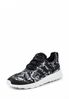 Кроссовки, adidas Originals, цвет: черно-белый. Артикул: AD093AWQIS99. Женская обувь / Кроссовки и кеды
