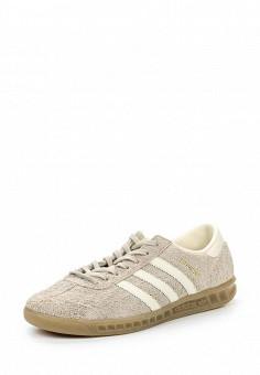 Кеды, adidas Originals, цвет: бежевый. Артикул: AD093AWQIT09. Женская обувь / Кроссовки и кеды