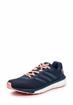 Кроссовки, adidas Performance, цвет: синий. Артикул: AD094AWQIK35. Женская обувь / Кроссовки и кеды