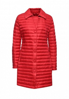 Пуховик, Add, цвет: красный. Артикул: AD504EWQIP35. Премиум / Одежда / Верхняя одежда / Пуховики и зимние куртки