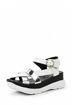 Босоножки, Alpino, цвет: белый. Артикул: AL050AWRRE49. Женская обувь / Босоножки