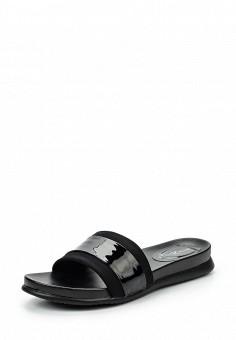 Шлепанцы, Amazonga, цвет: черный. Артикул: AM338AWQLB70. Женская обувь / Шлепанцы и акваобувь