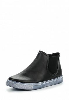 Слипоны, Angelo Milano, цвет: черный. Артикул: AN053AWPSU63. Женская обувь