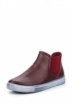 Слипоны, Angelo Milano, цвет: бордовый. Артикул: AN053AWPSU64. Женская обувь