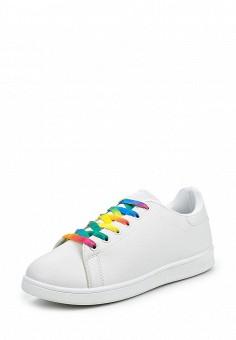 Кеды, Angelo Milano, цвет: белый. Артикул: AN053AWQQA27. Женская обувь