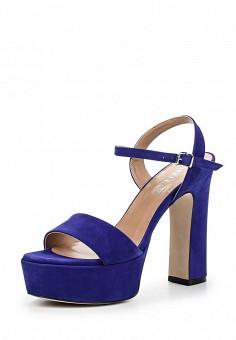 Босоножки, Arella, цвет: синий. Артикул: AR034AWQTY54. Женская обувь / Босоножки
