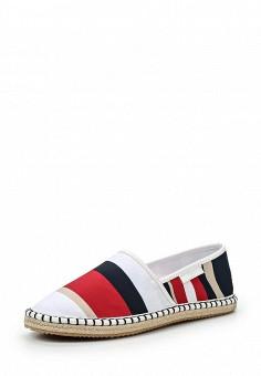 Эспадрильи, Armani Jeans, цвет: мультиколор. Артикул: AR411AWPWC42. Премиум / Обувь