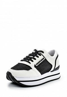 Кроссовки, Armani Jeans, цвет: черно-белый. Артикул: AR411AWPWC52. Премиум / Обувь