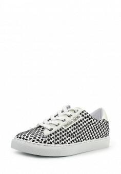 Кеды, Armani Jeans, цвет: черно-белый. Артикул: AR411AWPWC64. Премиум / Обувь
