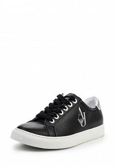 Кеды, Armani Jeans, цвет: черный. Артикул: AR411AWPWC73. Премиум / Обувь