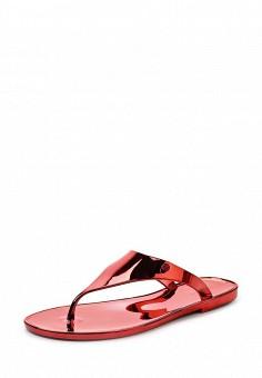Шлепанцы, Armani Jeans, цвет: красный. Артикул: AR411AWPWC77. Премиум / Обувь