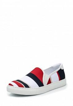 Слипоны, Armani Jeans, цвет: мультиколор. Артикул: AR411AWPWD02. Премиум / Обувь