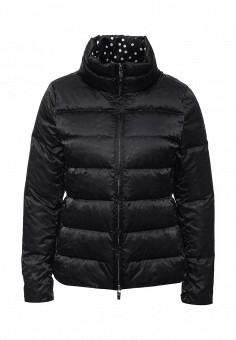 Пуховик, Armani Jeans, цвет: черный. Артикул: AR411EWJSO94. Женская одежда / Верхняя одежда
