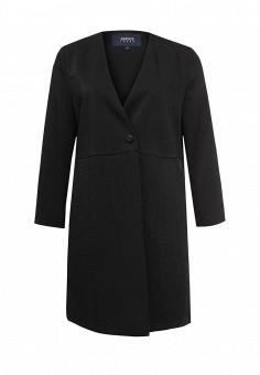 Пальто, Armani Jeans, цвет: черный. Артикул: AR411EWPWF81. Премиум / Одежда / Верхняя одежда / Пальто