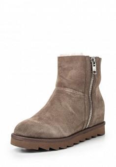 Полусапоги, Ash, цвет: серый. Артикул: AS069AWGKY01. Женская обувь