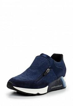 Кроссовки, Ash, цвет: синий. Артикул: AS069AWQQY61. Женская обувь