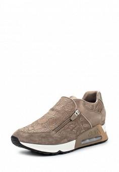 Кроссовки, Ash, цвет: бежевый. Артикул: AS069AWQUP39. Женская обувь