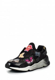 Кроссовки, Ash, цвет: черный. Артикул: AS069AWQUP43. Женская обувь