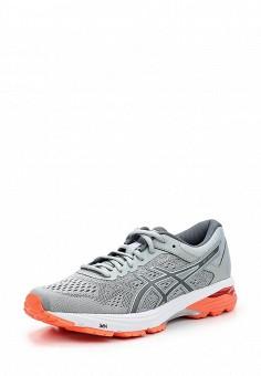 Кроссовки, ASICS, цвет: серый. Артикул: AS455AWUMF61. Женская обувь / Кроссовки и кеды