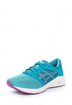 Кроссовки, ASICS, цвет: бирюзовый. Артикул: AS455AWUMF64. Женская обувь / Кроссовки и кеды