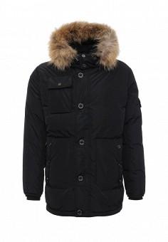 Пуховик, Baon, цвет: черный. Артикул: BA007EMLNS64. Мужская одежда / Верхняя одежда / Пуховики и зимние куртки