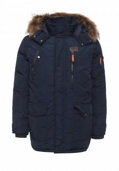 Пуховик, Baon, цвет: синий. Артикул: BA007EMLNS71. Мужская одежда / Верхняя одежда / Пуховики и зимние куртки