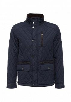 Куртка утепленная, Baon, цвет: синий. Артикул: BA007EMLNS86. Мужская одежда / Верхняя одежда