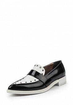 Туфли, Barracuda, цвет: черно-белый. Артикул: BA056AWPTD66. Премиум / Обувь / Туфли