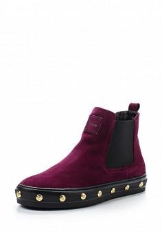 Ботинки, Baldinini, цвет: бордовый. Артикул: BA097AWTCB32. Женская обувь