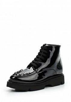 Ботинки, Baldinini, цвет: черный. Артикул: BA097AWTCB42. Женская обувь