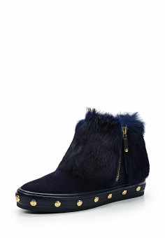 Ботинки, Baldinini, цвет: синий. Артикул: BA097AWTCB58. Женская обувь
