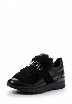 Кроссовки, Baldinini, цвет: черный. Артикул: BA097AWTCB60. Женская обувь