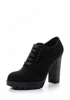 Ботильоны, Baldinini, цвет: черный. Артикул: BA097AWTCB94. Женская обувь