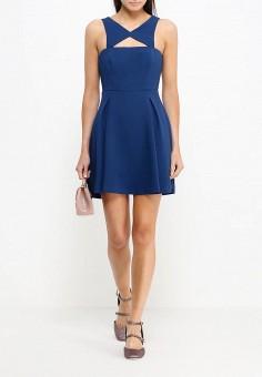 Платье, BCBGeneration, цвет: синий. Артикул: BC528EWJBL42. Премиум / Одежда / Платья и сарафаны
