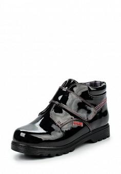 Ботинки Betsy Princess выполнены из искусственной лаковой кожи