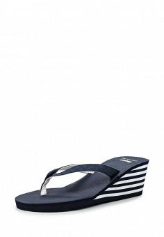 Сабо, Beppi, цвет: синий. Артикул: BE099AWHSM04. Женская обувь / Шлепанцы и акваобувь