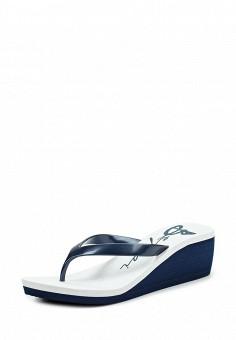 Сланцы, Beppi, цвет: синий. Артикул: BE099AWJDD59. Женская обувь / Шлепанцы и акваобувь