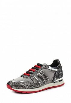 Кроссовки, Bikkembergs, цвет: серый. Артикул: BI535AWKKU67. Женщинам / Обувь / Кроссовки и кеды
