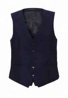 Жилет, Burton Menswear London, цвет: синий. Артикул: BU014EMLGE40. Burton Menswear London