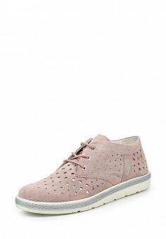 Ботинки, Bugatti, цвет: розовый. Артикул: BU182AWOKP35.