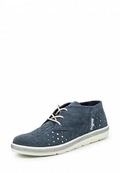 Ботинки, Bugatti, цвет: синий. Артикул: BU182AWOKP36.