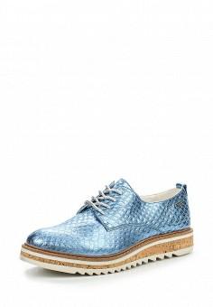 Ботинки, Bugatti, цвет: голубой. Артикул: BU182AWOKP50.