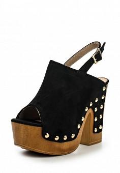 Босоножки, Catisa, цвет: черный. Артикул: CA072AWTFO64. Женская обувь / Босоножки